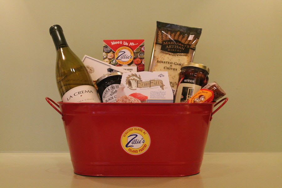 Ocracoke The Connoisseur Gift Basket
