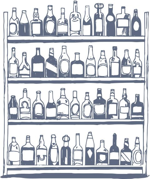 bottles-on-shelf