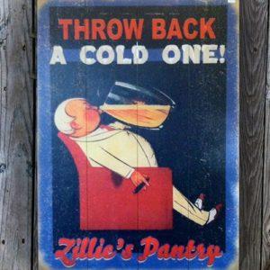 zillie's vintage signs